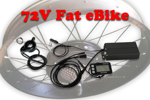 Kit Evolution II pour Fat eBike  72V 10Ah
