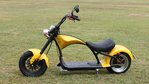 Super chopper  60V 1500W JAUNE