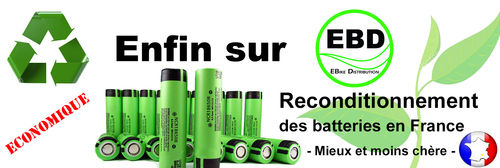 Reconditionnement Batterie 36V 20 Ah Type ISD, JOYCUBE...